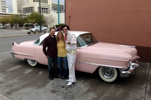 elvis_with_his_pink_cadillac_at_wee_kirk_las_vegas_wedding_chapel