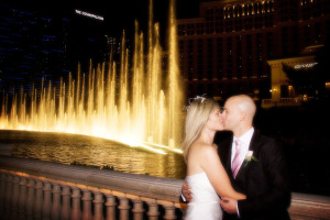 Las Vegas Strip Wedding Pictures