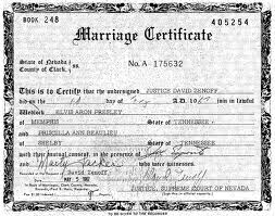 Certified and Apostille for Las Vegas  wedding